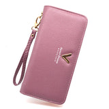 New Ladies Purses Female Brand Wallets Women Long Zipper Purse Woman Wallet Leather Card Holder Clutch Portefeuille femme