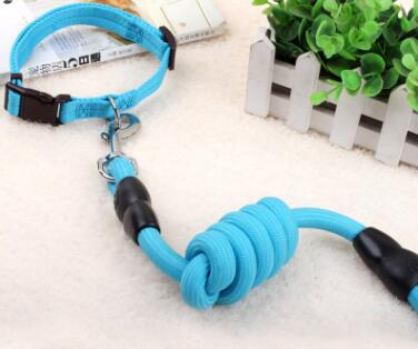 Nylon Pet Dog Collar Leash Set Adjustable For Small Medium Large Dog leash running collars for small dogs harness pet products