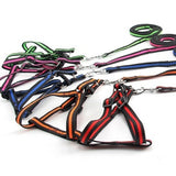 Bungee Dog harness leash collars Pet Products Nylon Dog harness vest and Leash running rope pet safety Dog Collars Pulling Rope