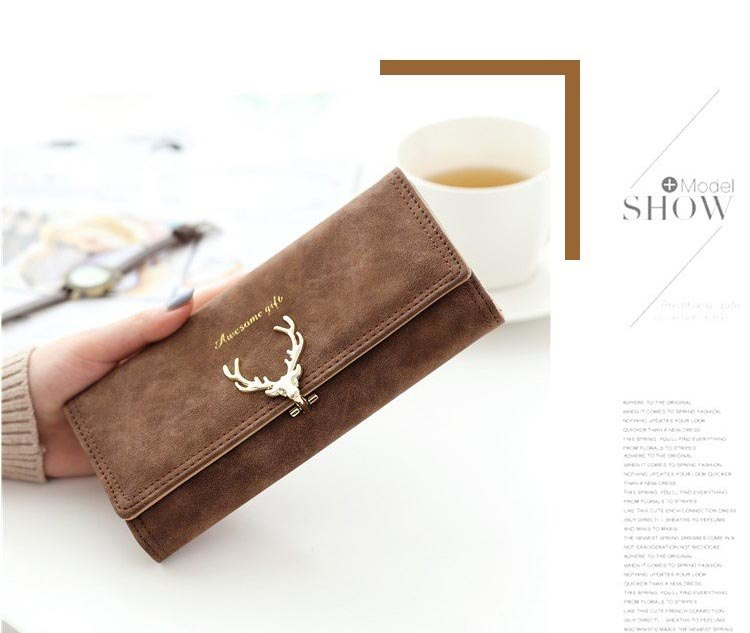 Wallet Women purse High Capacity Fashion Long Wallet Female Long Design Purse Women Coin Purses Ladies More Color Clutch