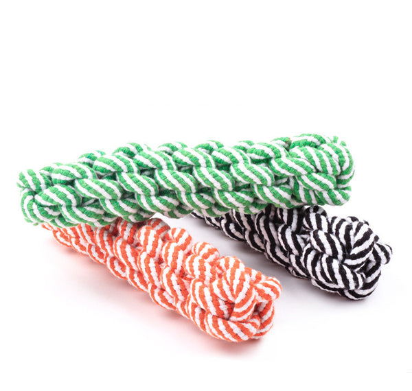 20cm cotton Rope Dog Toys Pet Puppy Chew Braided Tug Toy For Pets Dogs Training Bait Toys for dog chew tooth cleanning supplies