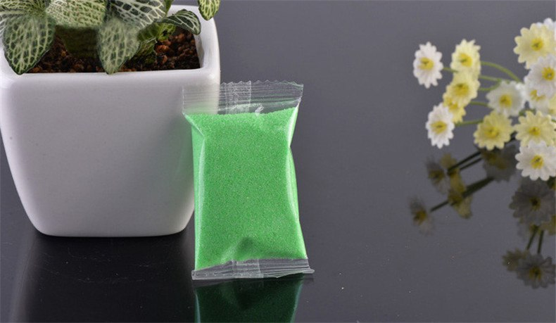 XBJ034 Color Sand 1 Bag Quartz Sand Micro Landscape Ecological Landscape Of Sand Sand Bottle Of Children'S Entertainment