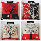 BZ275 Tree pastoral style Pillow Cushion Cover Pillowcase Sofa/Car Cushion /Pillow  Home Textiles supplies