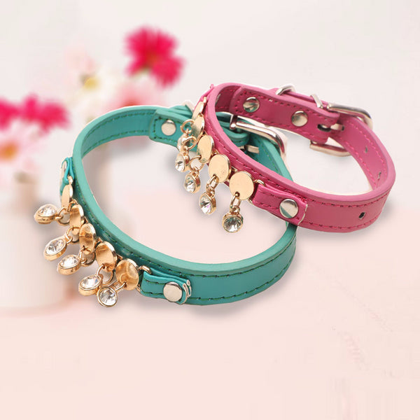 Pet Products for Dog Cats Crystal Necklace for Dogs Accessories Luxury Jewelry Bling Puppy Chihuahua Dog Collar Pets Supplies