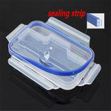 CJ030 Single Buckle Around LunchBox Can Microwaveoven LunchBox Tableware Single Plastic Bento LunchBoxes