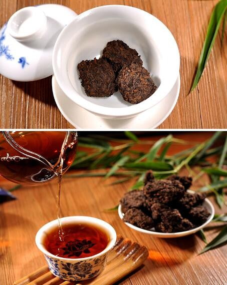 Black Natural Flavor Puerh Tea Pu'erh Yunnan Puer tea Mini Tuocha Green slimming