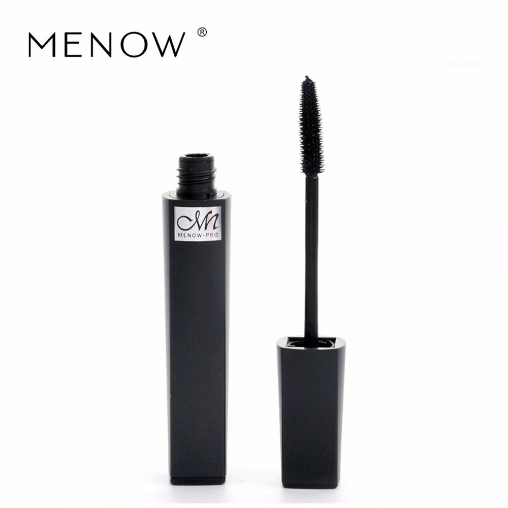 Menow 3D Magic Fashion Black Slender Mascara Waterproof Easy Makeup Remover Long-lasting Alice Mascara Cosmetics M16001