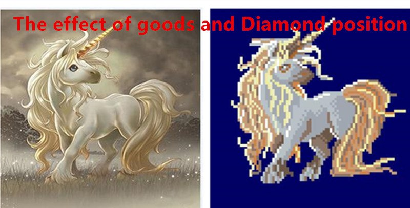 DIY 5D Partial Diamond Embroidery The horse Round Diamond Painting Cross Stitch Kits Diamond Mosaic Home Decor
