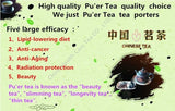 15 Pcs Organic PuEr Tea High Quality Chinese Yunnan Pu'Er Tea Mini Pu Er Tuocha