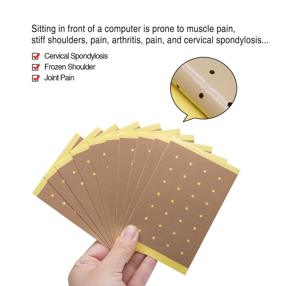 8Pcs Chinese Pain Relief Plaster Muscular Fatigue Arthritis Rheumatism Joint Pain Patch Backache Medical Plaster K00801