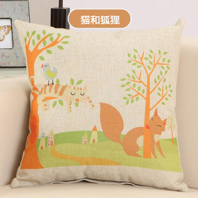 BZ108 Luxury Cushion Cover Pillow Case Home Textiles supplies Lumbar Pillow American Village style pillows chair seat