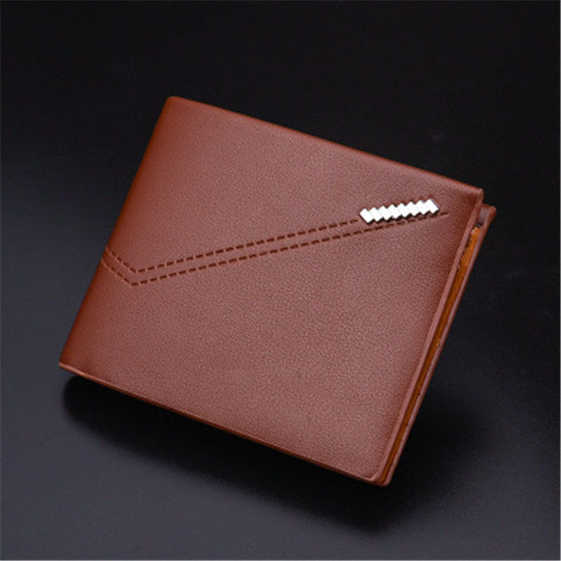 Casual imitation magnetic card package High quality fabric leather clutch Multi-purpose wallet money clamps