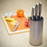 23*11.2*11.2cm Universal Stainless Steel Knife Holder knife block knife stand for knives kitchen accessories product for kitchen