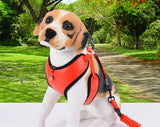 Puppy Dog Harness Soft Leather Protective Dog Vest Leash Lead Set with Bell Pets Collars Style Chest Strap Leash Dog Harness