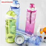 CJ003 Fashion Clamshell Space bottle Water Bottle Large-capacity Sports Bottle 800ml Portable Drinking Drinkware Readily Bottle