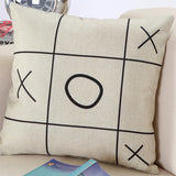 BZ011 Creative geometric cushions without inner black and white decorative throw pillows chair seat home decor home textile gift