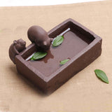 CJ280 Creative DIY Purple Sand Tea Pet Pig Furnishing Articles Home Decoration Kung Fu Tea Accessories