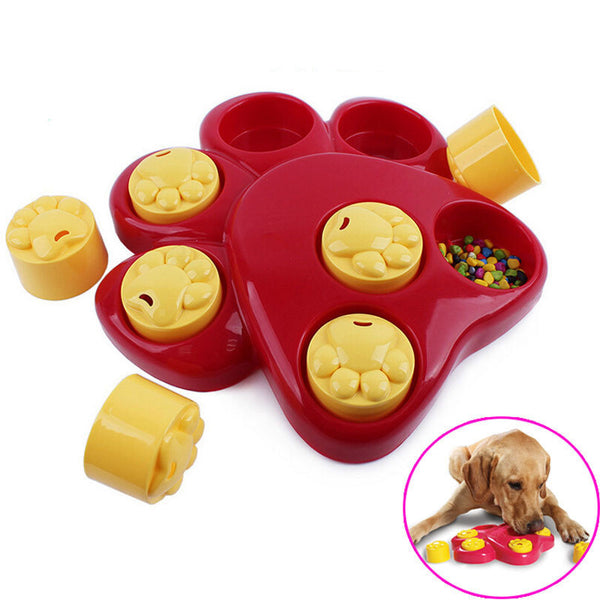 Pet Dog Bowl Feeder Funny Slow Eating Dish Pet Bowl Find Food Bowl Healthy anti choke prevent Gluttony Obesity Puzzle Feeder