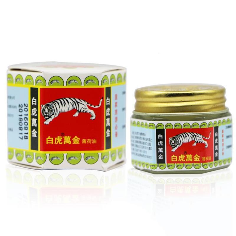 15g White Tiger Balm Arthritis Joint Pain Body Massage Patches Pain Relief Plaster Ointment Headache balsamo tigre Balm Oil
