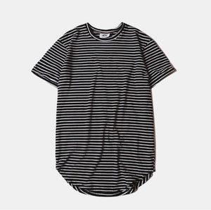 Striped | Sim Extended Tee