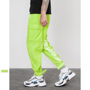SYSTEM OVERLOAD | TRACK PANTS (NEON GREEN)