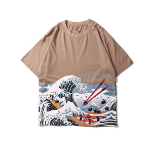 Sushi & Chopsticks | Wave Tee