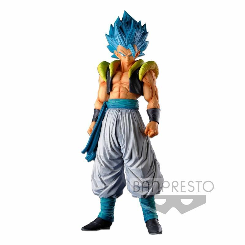 OVERSEA - DRAGON BALL SUPER - SUPER MASTER STARS PIECE - THE GOGETA THE BRUSH SUPER SAIYAN BLUE