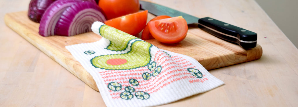 "Sweetgum eco-friendly ""Swedish"" dishcloths"