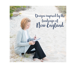 New England designed blankets and kitchen linens