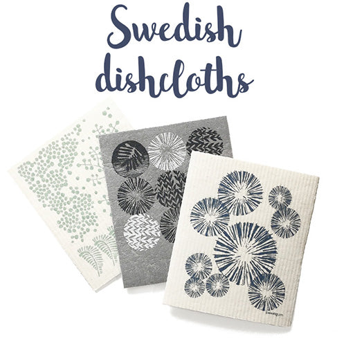 Swedish dishcloths by Sweetgum