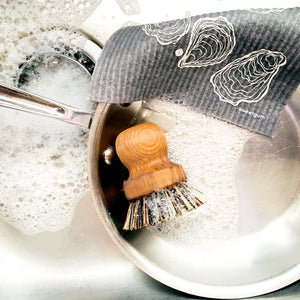 Pot Brush and Swedish Dishcloth
