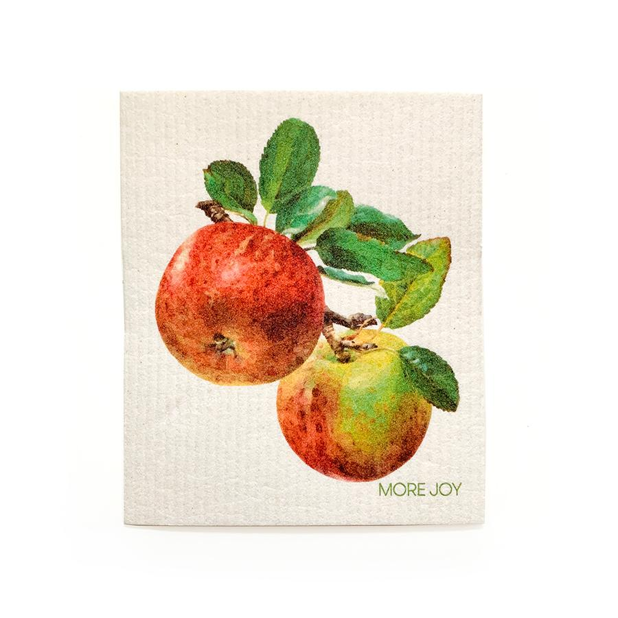Apples Swedish Dishcloth | Red Swedish Dishcloths SWEETGUM TEXTILES CO., LLC