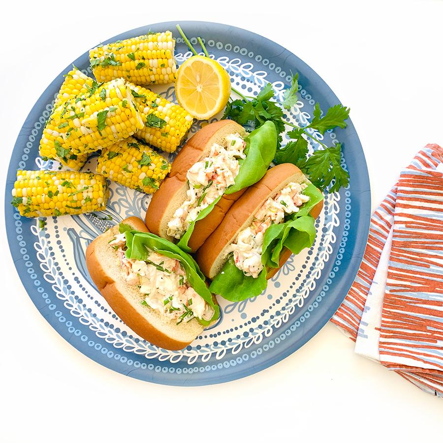 Lobster Roll Recipe sweetgum textiles company, LLC