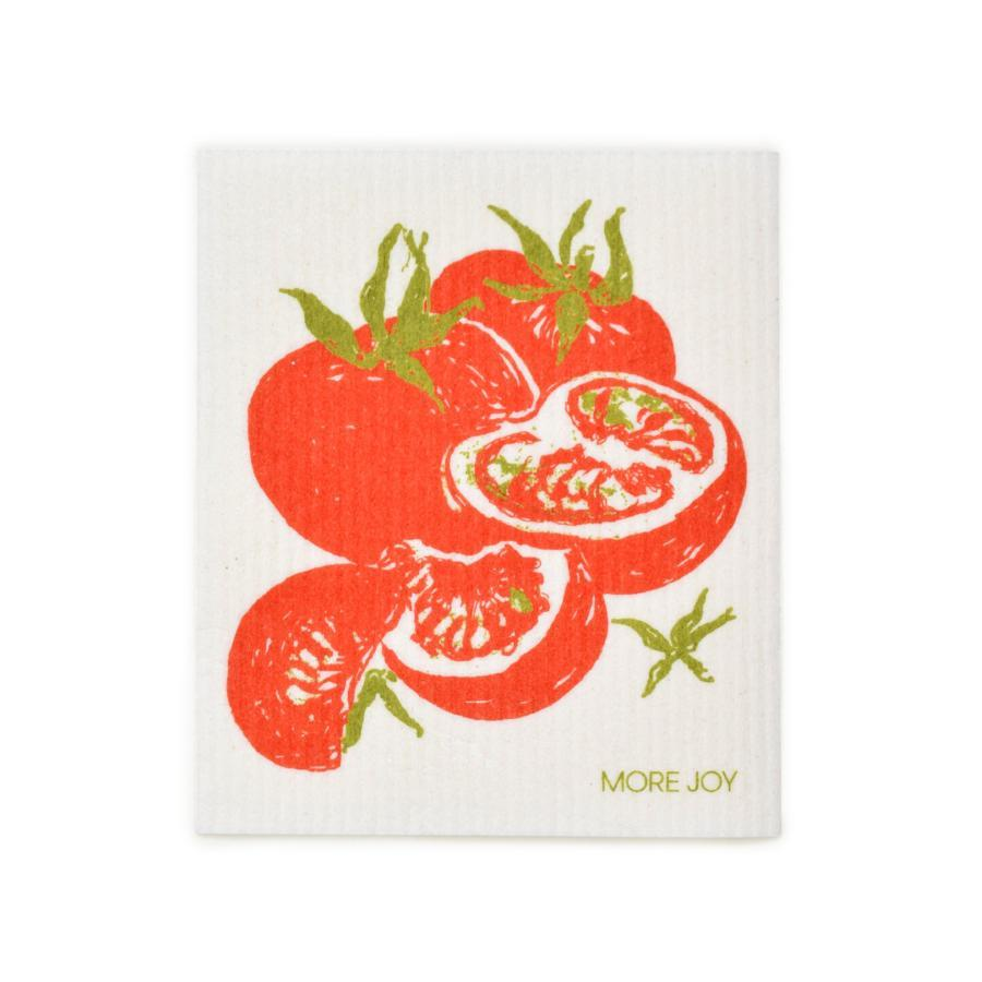 "Tomatoes Swedish Dishcloth | Red | 8"" x 6.75"" 