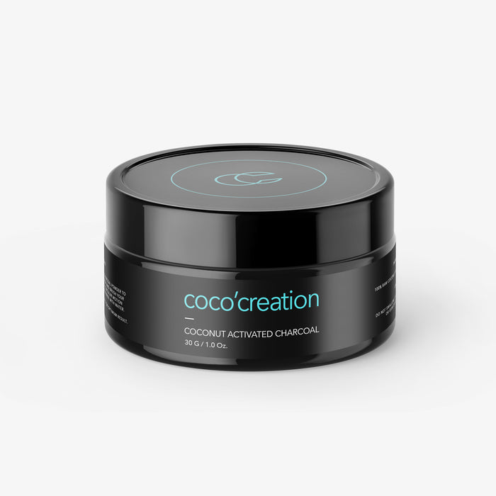 Activated Charcoal Teeth Whitening Powder - Coco'creation
