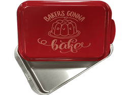 9x13 Baking Pan with Lid - Bakers Gonna Bake