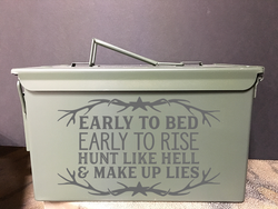 Early To Bed - Ammo Box
