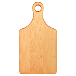 Paddle Shaped Maple Cutting Board