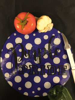 KSU - Round Glass Cutting Board