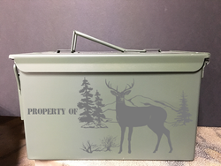 Hunt Scene Property Of - Ammo Box