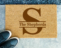 Customizable Coir Doormat