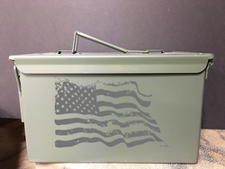 Tattered Flag - Ammo Box