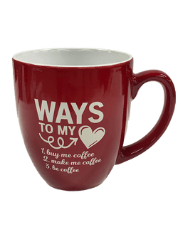 Ways To My Heart Bistro Mug