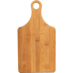 Paddle Shaped Bamboo Cutting Board
