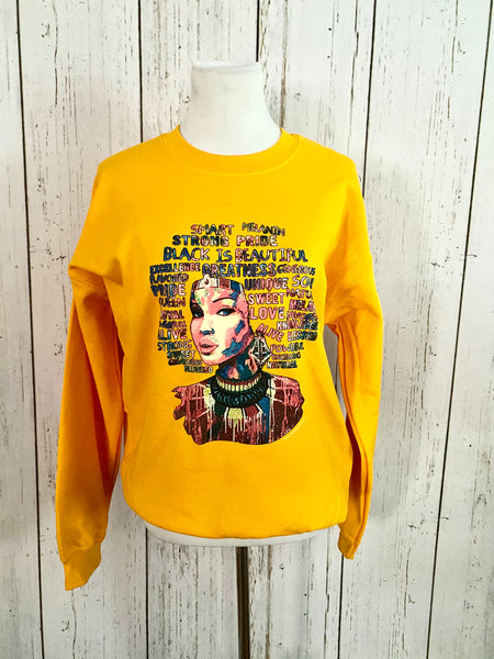 Beautiful Soul Crewneck Fashion Sweatshirt