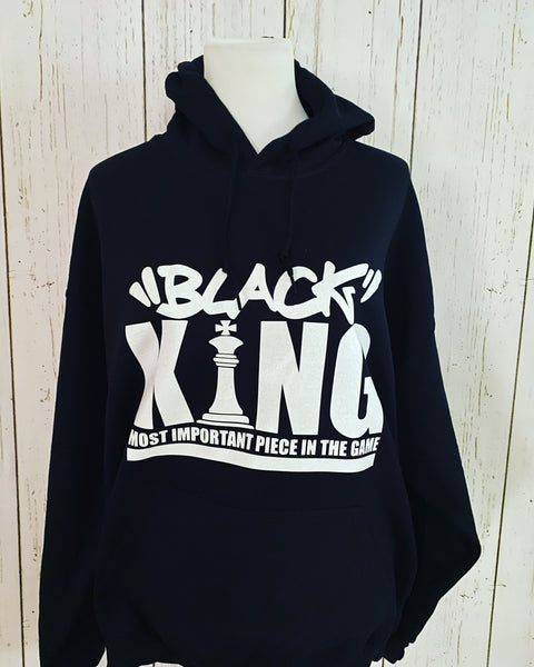 Black King Fashion Hoodie