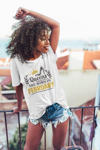 Birthday Queens Fashion T-shirt