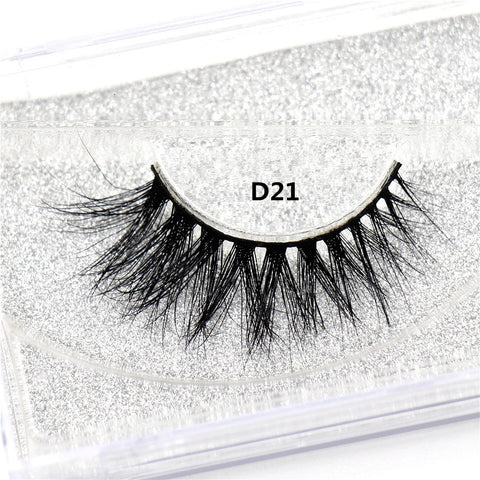 Long Lasting Lightweight Natural Mink Lashes