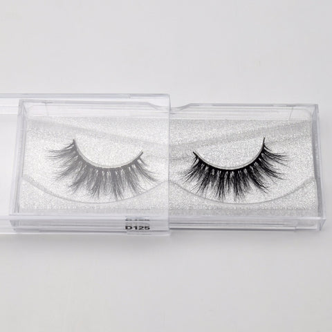 Luxury High Volume Handmade Mink Full Strip Eyelashes
