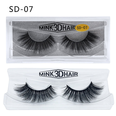 3D Mink Long Lasting Natural  Eyelashes